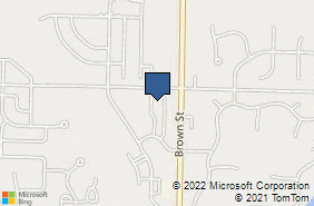 Bing Map of 1280 Brown St # K-1 Oconomowoc, WI 53066