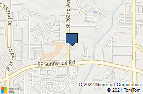 Bing Map of 12900 Se 162nd Ave Ste 100 Happy Valley, OR 97086