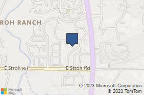 Bing Map of 12900 Stroh Ranch Pl Unit 120 Parker, CO 80134
