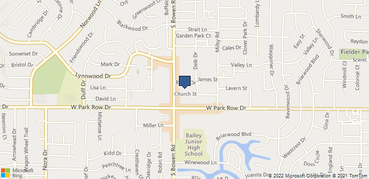 1301 S Bowen Rd Arlington, TX, 76013 Map