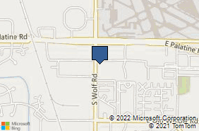 Bing Map of 1301 S Wolf Rd Ste 204 Prospect Heights, IL 60070