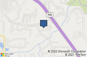 Bing Map of 1301 Solana Blvd Ste 4104 Westlake, TX 76262