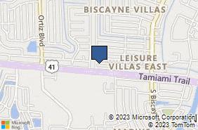 Bing Map of 13015 Tamiami Trl North Port, FL 34287