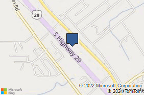 Bing Map of 1310 S Highway 29 # A Cantonment, FL 32533
