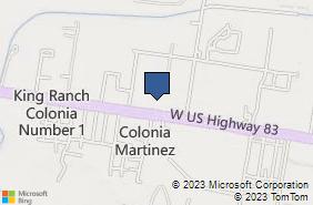 Bing Map of 1312 Expressway 83 Ste 3 Penitas, TX 78576