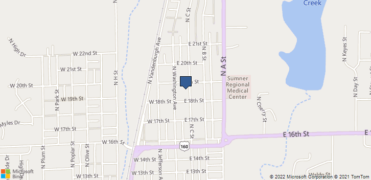 1312 N C St  Wellington, KS, 67152 Map