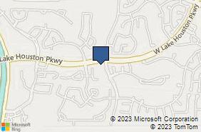 Bing Map of 13176 W Lake House Pkwy Ste 7 Houston, TX 77044