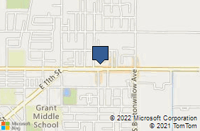 Bing Map of 1318 E Manning Ave Ste A Reedley, CA 93654