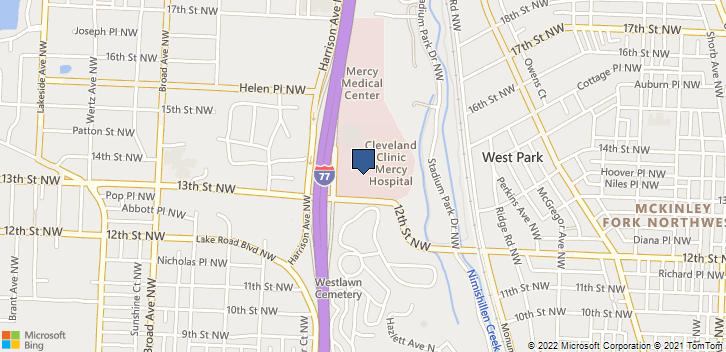1320 Mercy Dr Nw Canton, OH, 44708 Map