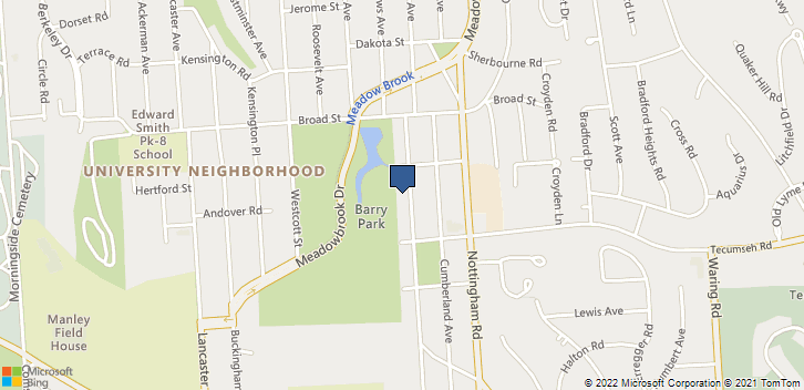 1326 Westmoreland Ave Syracuse, NY, 13210 Map
