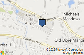 Bing Map of 132a Industry Ln Ste 2a Forest Hill, MD 21050