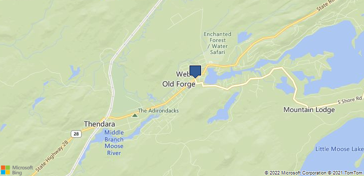 1334 Rt-28 Old Forge, NY, 13338 Map