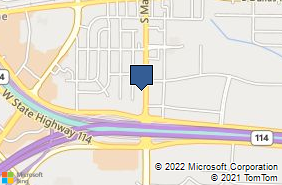 Bing Map of 1340 S Main St Ste 200 Grapevine, TX 76051