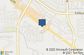 Bing Map of 13411 State Highway 249 Ste 1 Houston, TX 77086