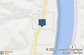 Bing Map of 13466 State Route 7 Proctorville, OH 45669