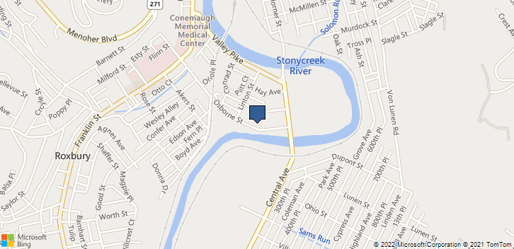 135 Osborne St Johnstown, PA, 15905 Map