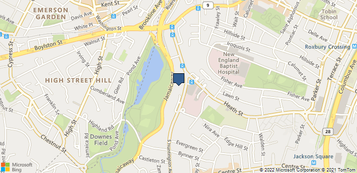 135 S Huntington Ave Boston, MA, 02130 Map