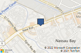 Bing Map of 1350 Nasa Pkwy Ste 104 Houston, TX 77058