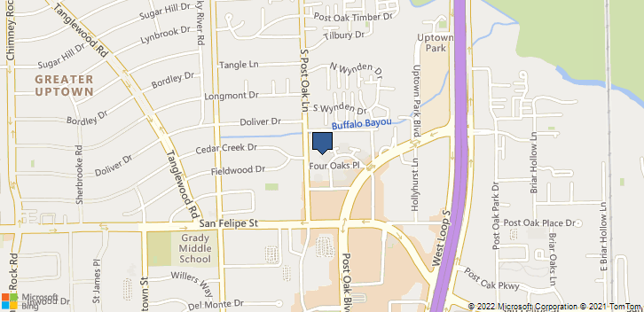 1360 Post Oak Blvd, 1600 Houston, TX, 77056 Map