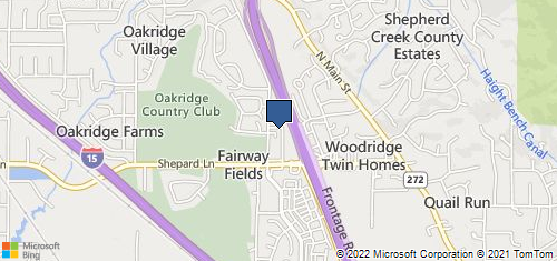 Bing Map of 1361 N Highway 89 Ste 16 Farmington, UT 84025