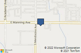 Bing Map of 13669 E Manning Ave Ste 102 Parlier, CA 93648
