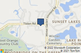 Bing Map of 13848 Tilden Rd Ste 218 Winter Garden, FL 34787