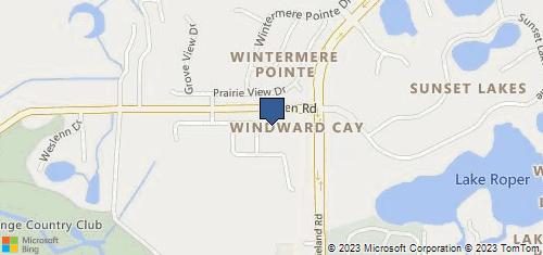 Bing Map of 13848 Tilden Rd Ste 218 Winter Garden, FL 34787