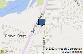 Bing Map of 139 Saratoga Ave Ste 6 South Glens Falls, NY 12803