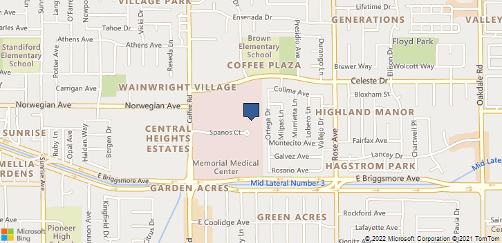 1401 Spanos Ct Modesto, CA, 95355 Map