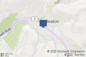 Bing Map of 1409 Earl L Core Rd Morgantown, WV 26505