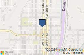 Bing Map of 141 Nw 6th St Ste A Redmond, OR 97756