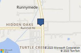Bing Map of 1410 S Narcoossee Rd Saint Cloud, FL 34771
