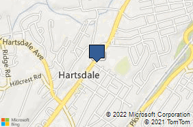 Bing Map of 142 N Central Ave Hartsdale, NY 10530