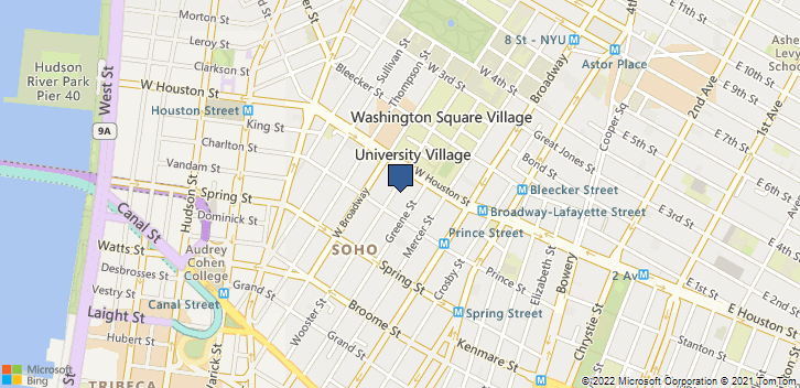 142 Wooster St Ste 1A New York, NY, 10012 Map
