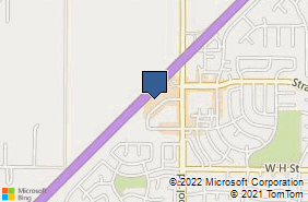Bing Map of 1450 Ary Ln Ste D Dixon, CA 95620