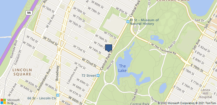 146 Central Park W New York, NY, 10023 Map