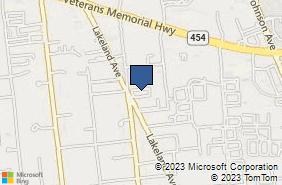 Bing Map of 1461 Lakeland Ave Unit 5 Bohemia, NY 11716