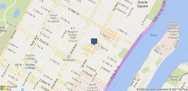 1461A 1st Ave New York, NY, 10021 Map
