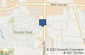 Bing Map of 14675 Midway Rd Addison, TX 75001
