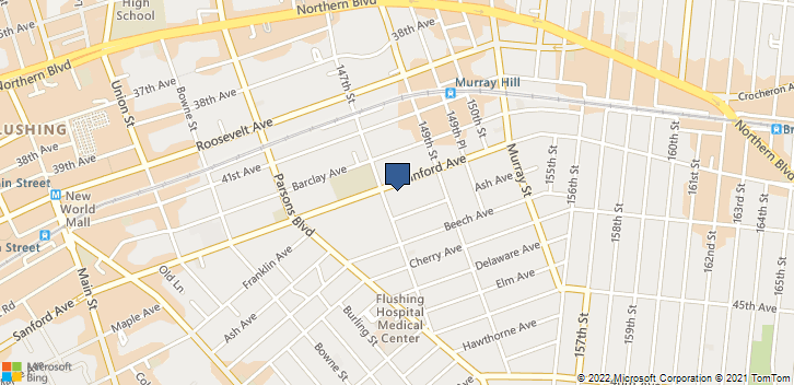 147-14 Sanford Ave, 18,Flushing New York, NY, 10001 Map