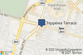 Bing Map of 15 E Montgomery Cross Rd Ste F Savannah, GA 31406