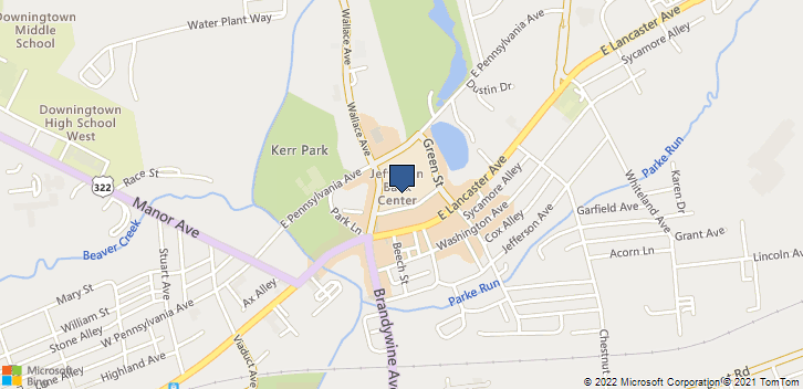 150 East Pennsylvania Avenue Suite 127 Downingtown, PA, 19335 Map