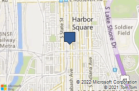 Bing Map of 1512 S Wabash Ave Chicago, IL 60605