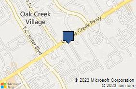Bing Map of 15127 Draper Rd Houston, TX 77014