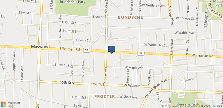 1515 W Truman Rd Independence, MO, 64050 Map