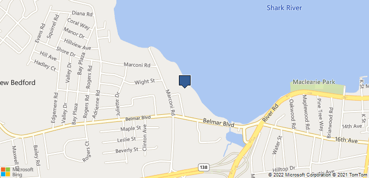 1516 Marion St Belmar, NJ, 07719 Map