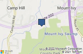 Bing Map of 1581 Route 202 Pomona, NY 10970