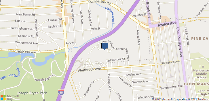 1600 Westbrook Ave Richmond, VA, 23227 Map