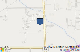 Bing Map of 1605 State Rd Ste 7 Vermilion, OH 44089