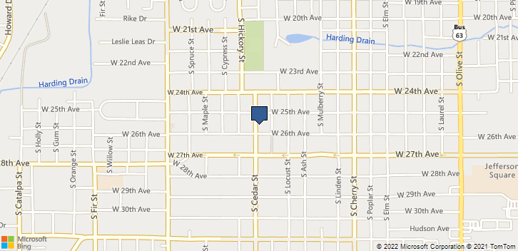 1609 W 26th Ave Pine Bluff, AR, 71603 Map